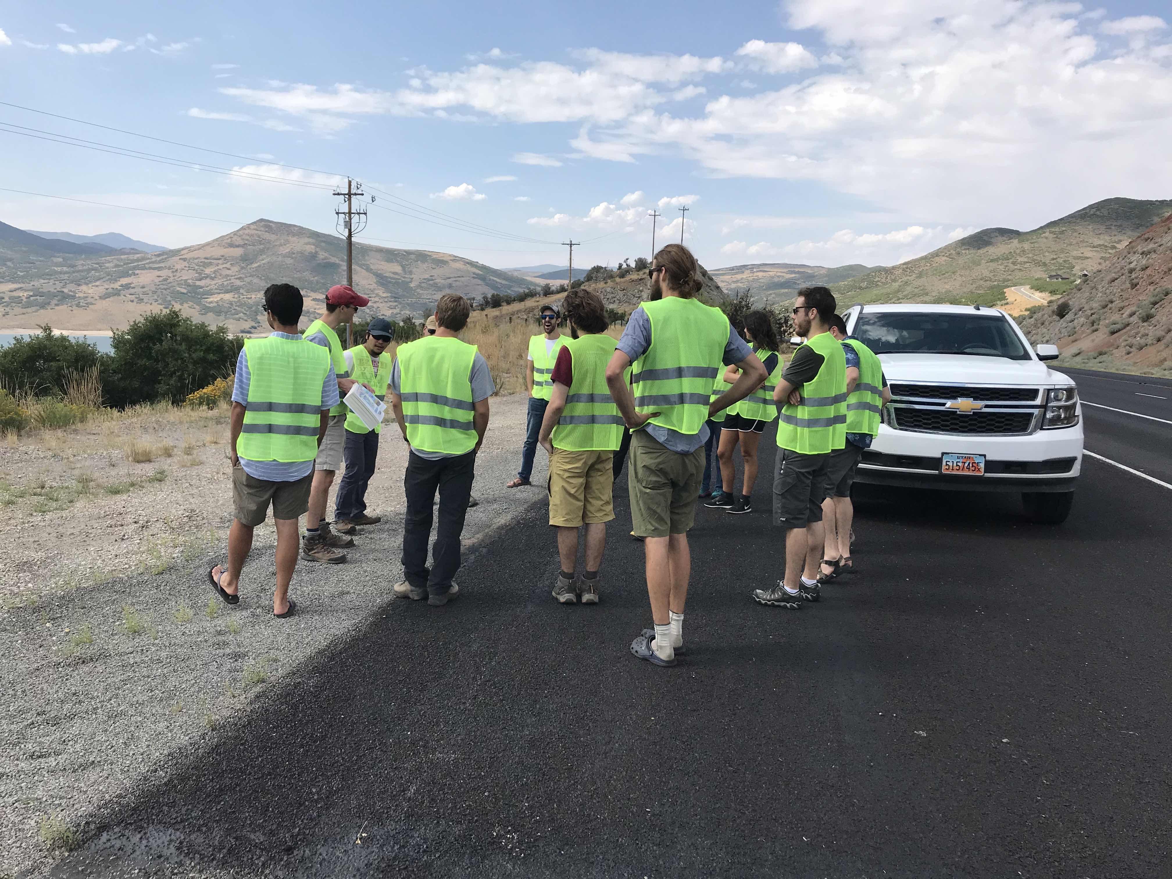 Roadside instruction